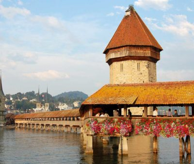 Lucerne's-wooden-chapel-bridge